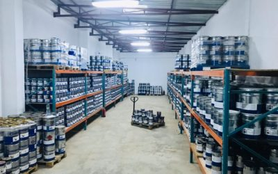The new Angolan Hempel warehouse